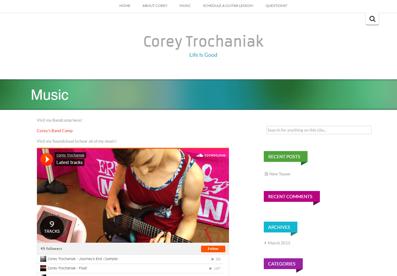 Corey Trochaniak